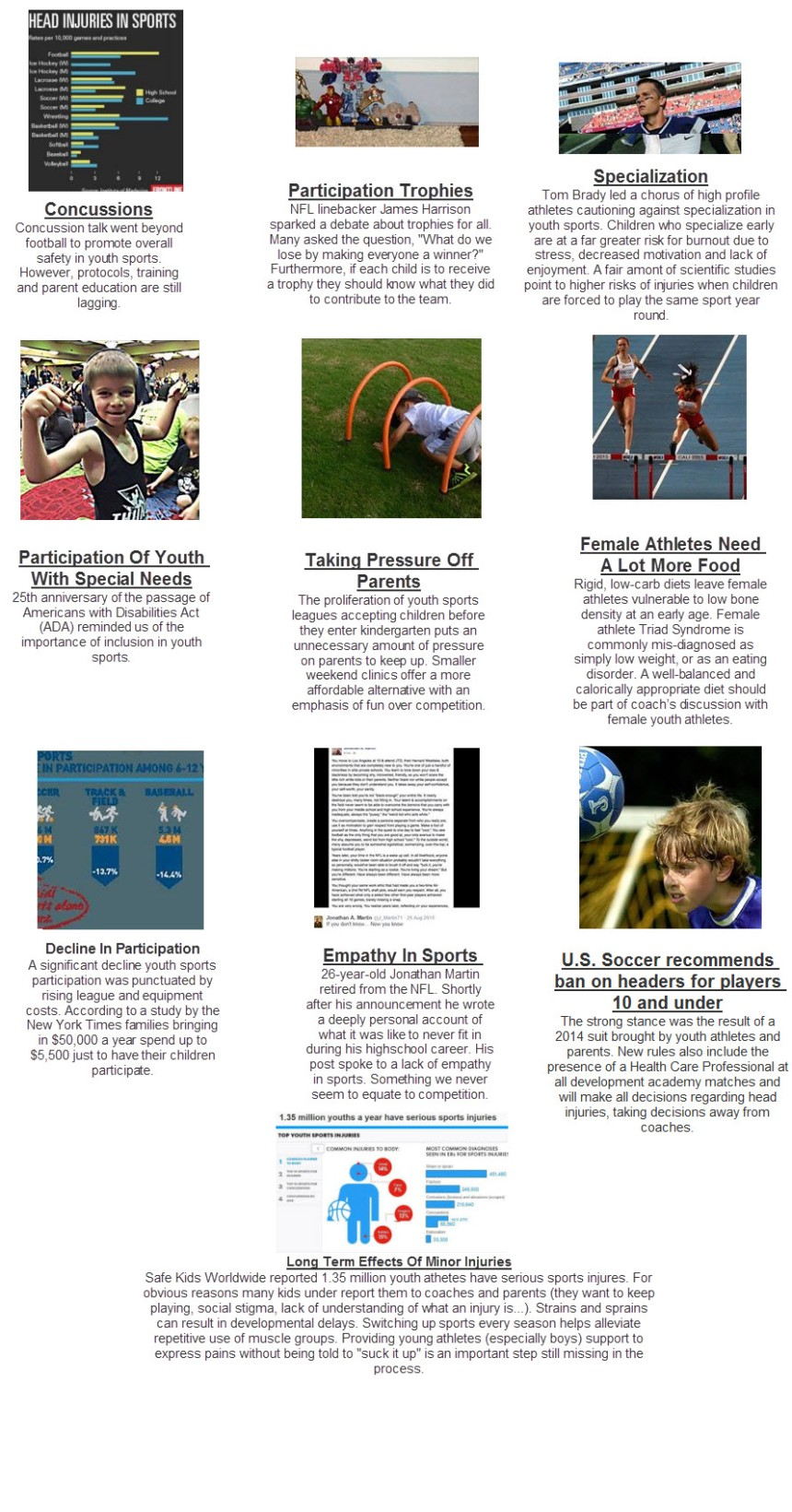 2015 10 youth sports stories